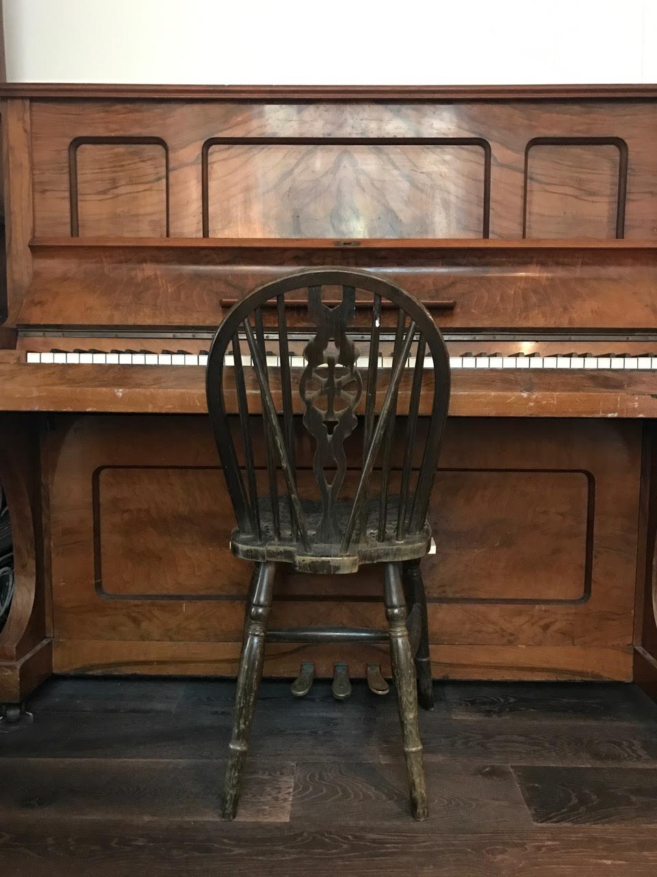 Upright Piano in Studio 2