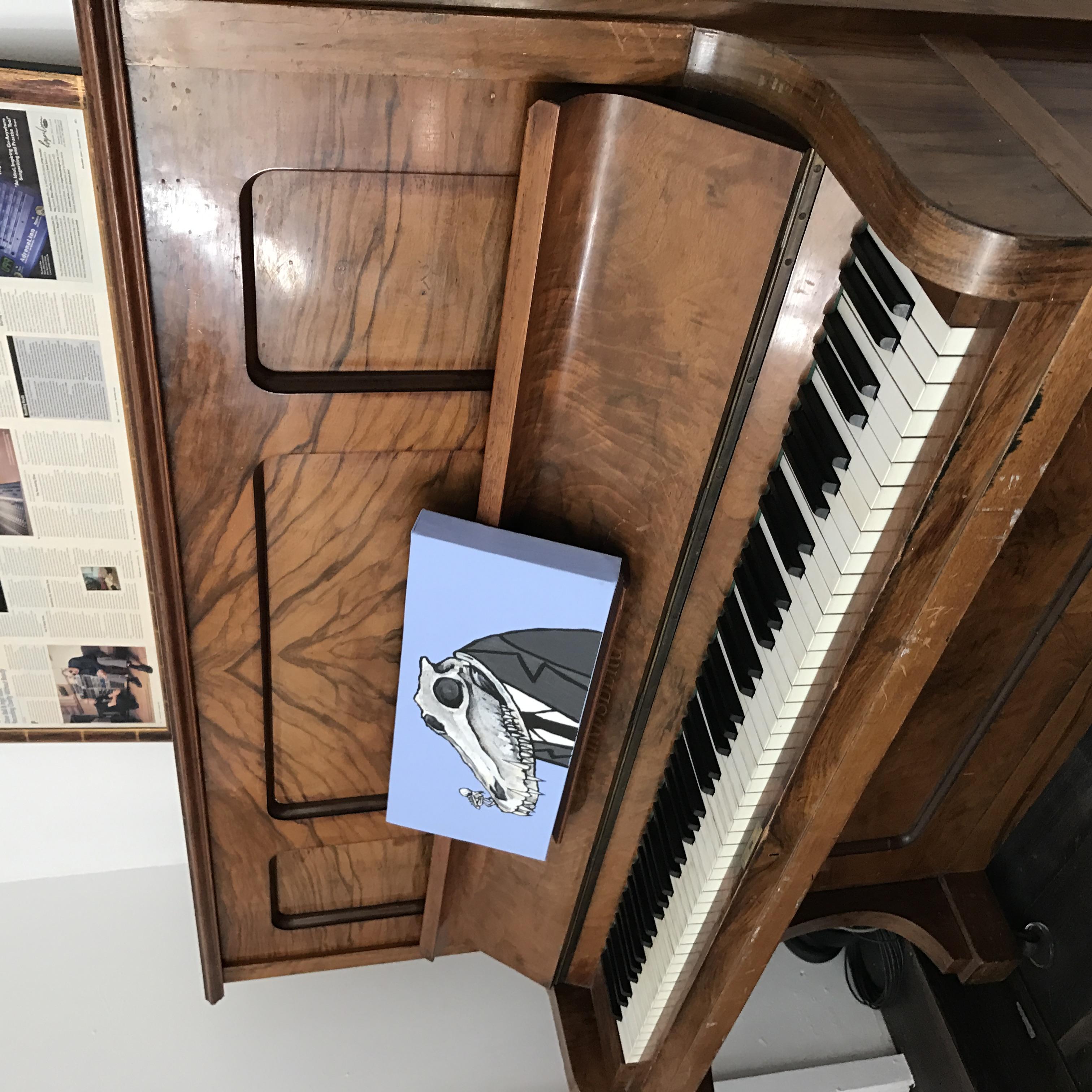 Piano in Studio 2 Lounge