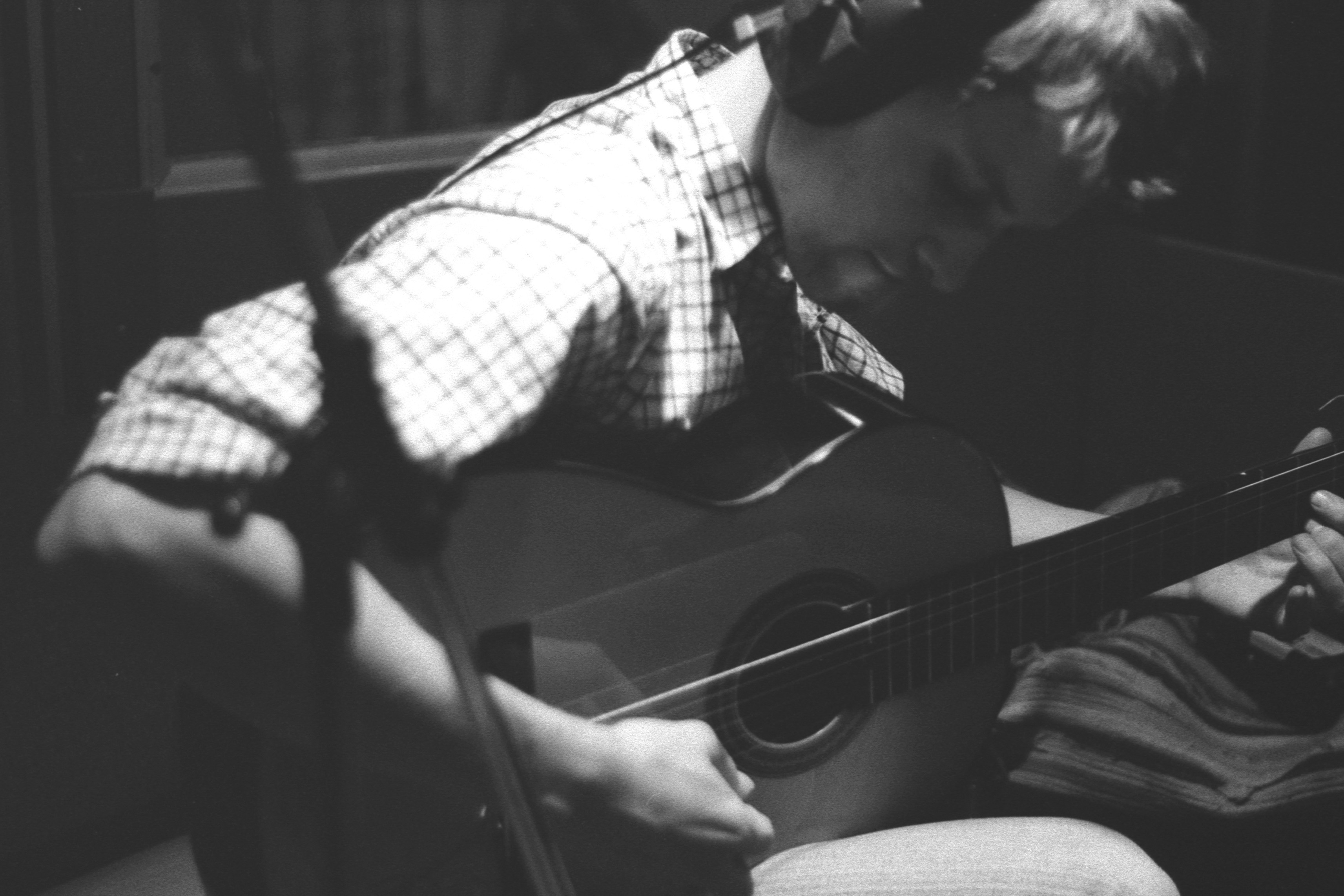 Guitar Session in Studio 1