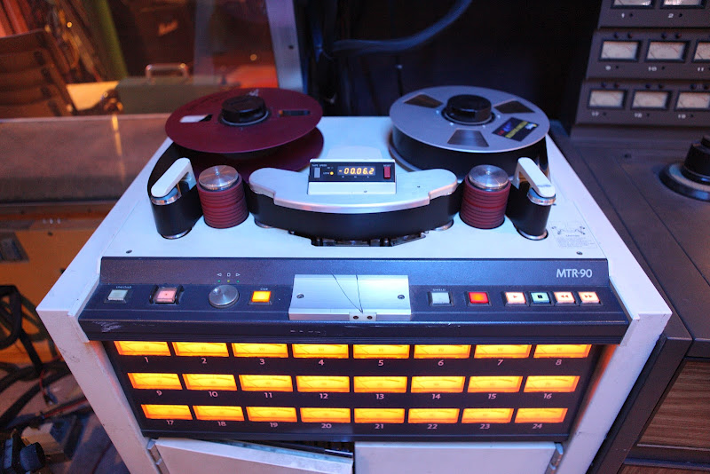 MTR90 Tape Machine in Studio 1