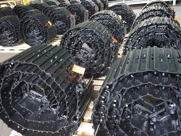 Track chains for YANMAR