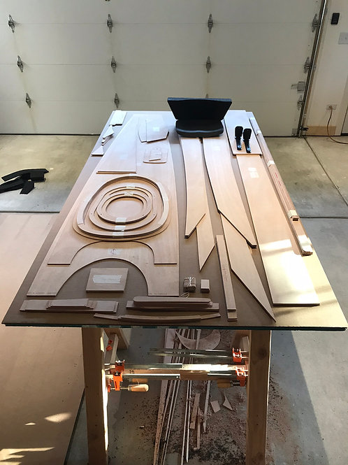 Mahogany Kayak kit