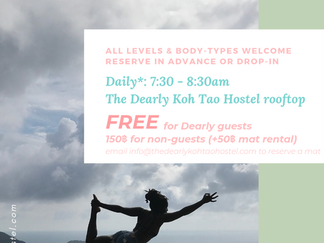 Rooftop Yoga is back!