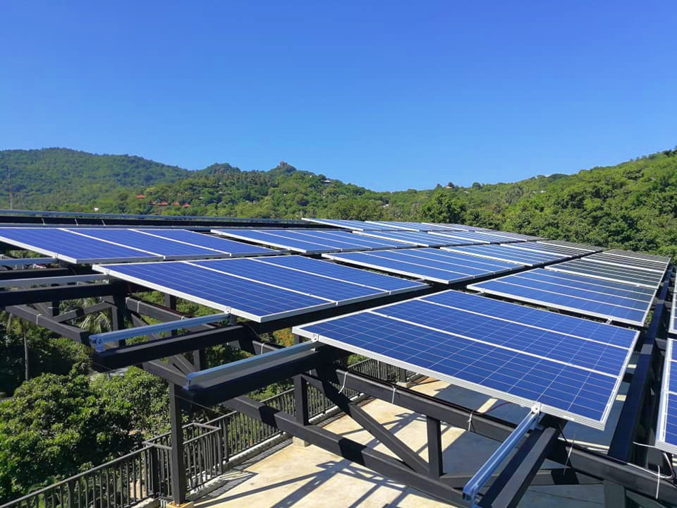 Solar Energy at The Dearly Koh Tao Hostel by WEL1997