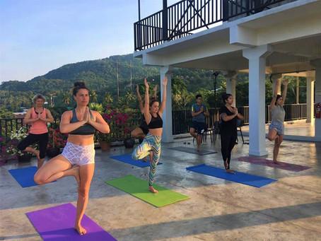 Jan-Feb: Rooftop Yoga