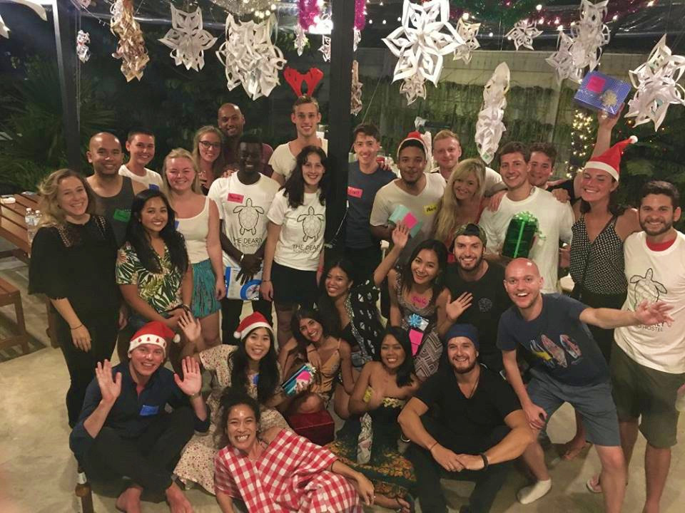 The Dearly Christmas Party at Koh Tao, Thailand