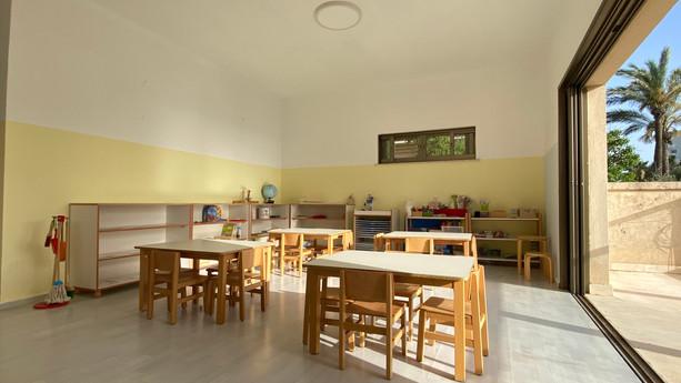 Sea view classroom