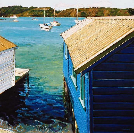 Boatsheds at Evans Bay