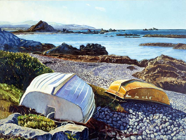 Island Bay Dinghies - unframed
