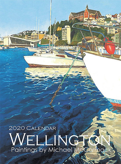 Wellington Calendar - Small and vertical
