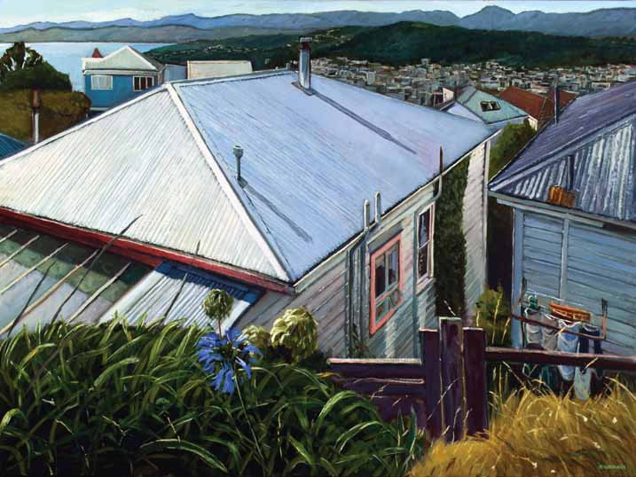 View from Central Terrace, Kelburn