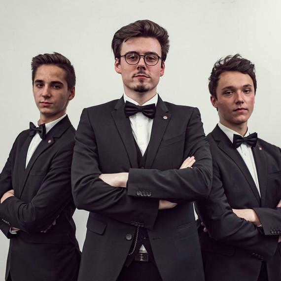Matteo Rasic, Oliver Sailer, David Kerber © Gerhard Berger