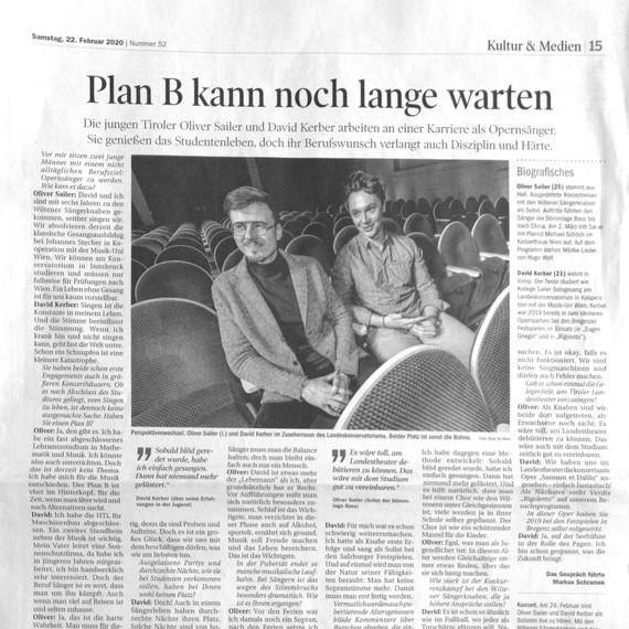Tiroler Tageszeitung - Markus Schramek