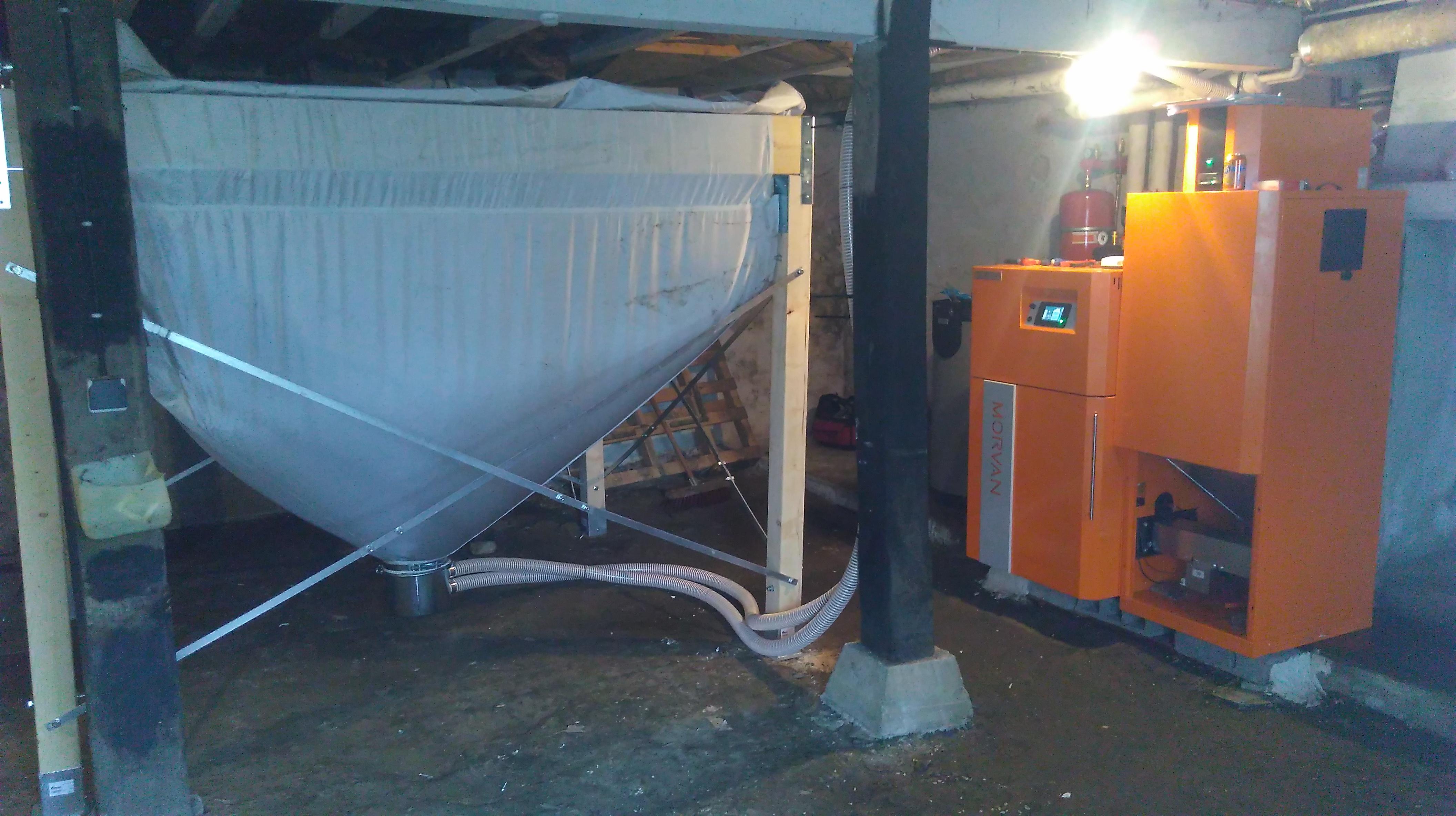 Chaudière-à-granulés-avec-silo-GM-Easy-MORVAN