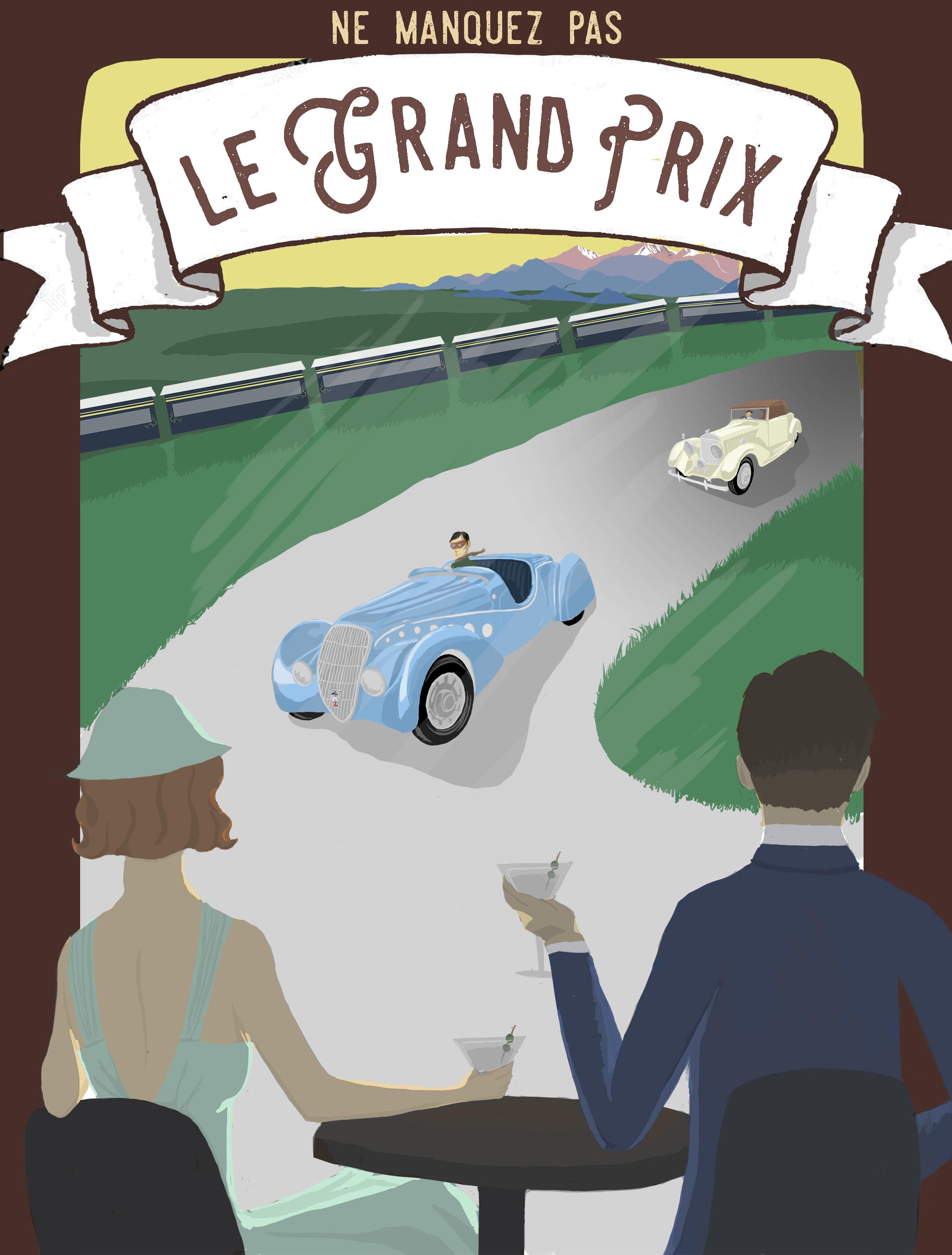Grand Prix Poster