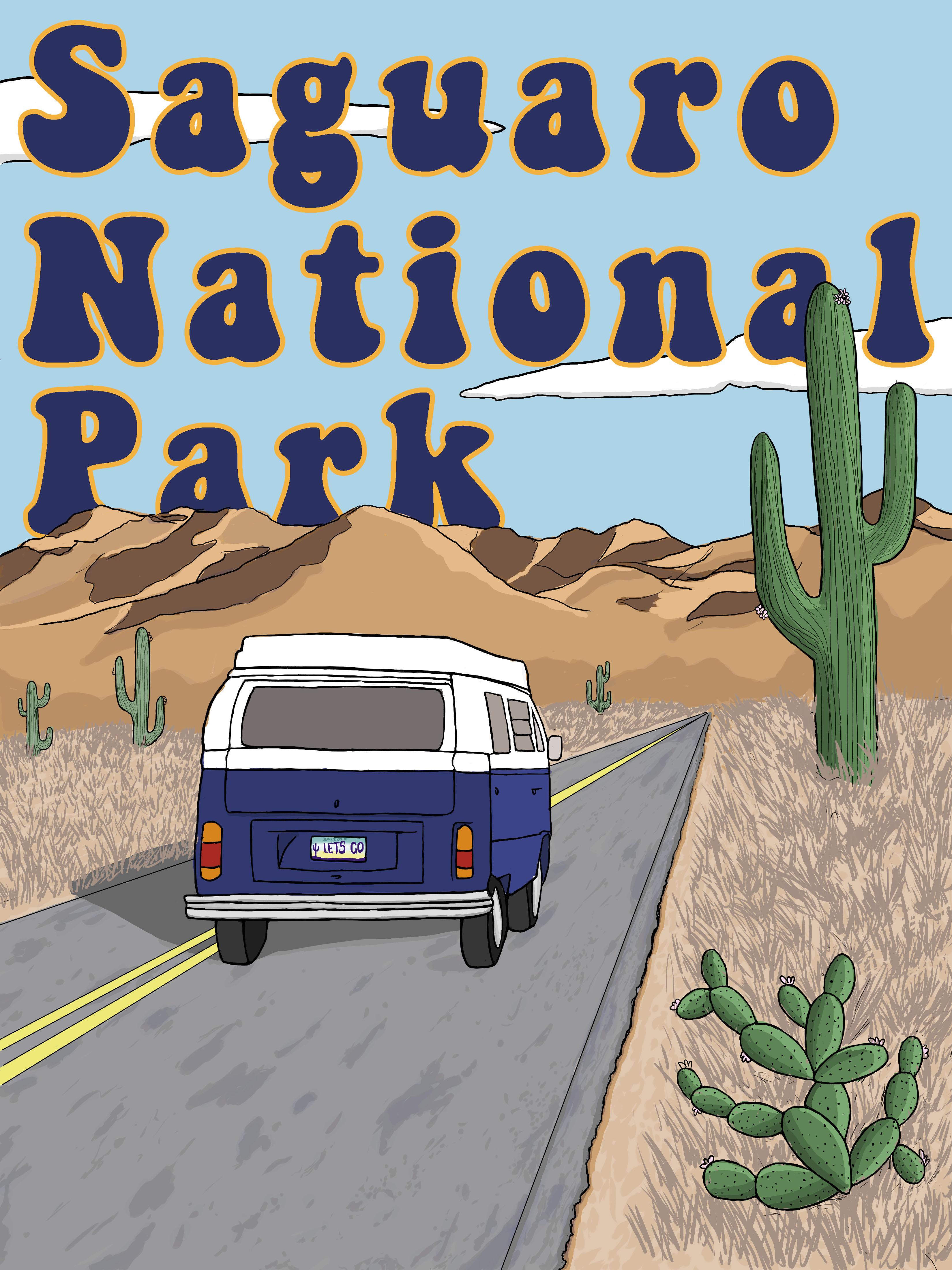 Saguaro Park Poster