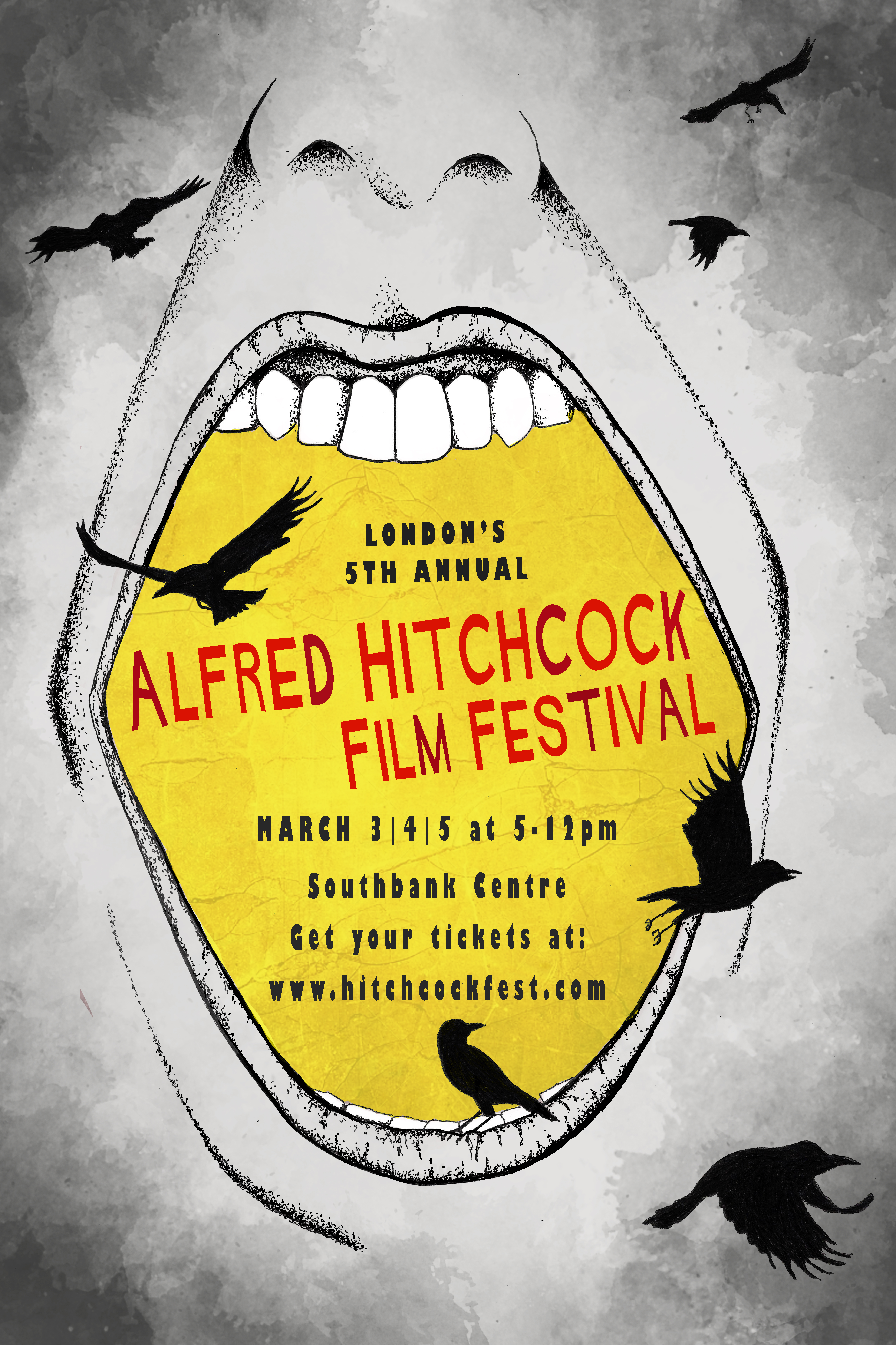 Alfred Hitchcock event Poster