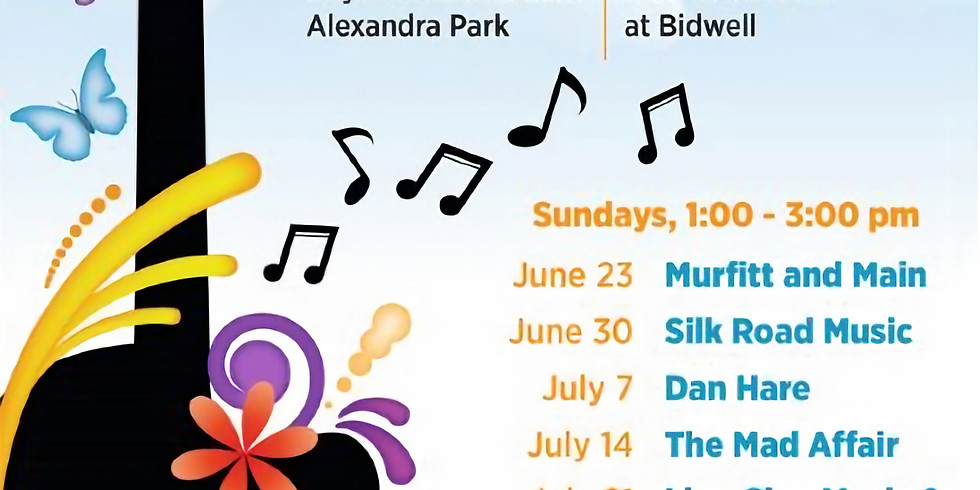 """The Mad Affair With Haywood Bandstand  """"Bastille Day July 14"""""""