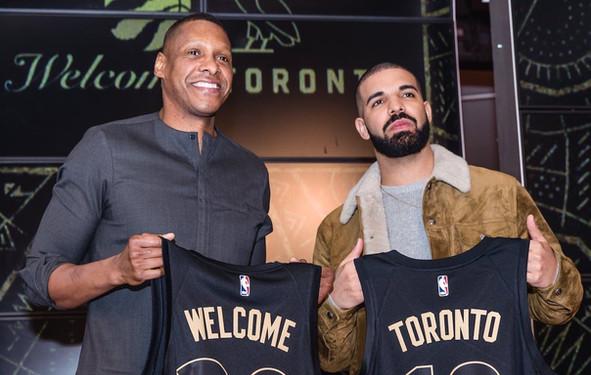 Toronto Raptors + Drake = Branding Superstardom