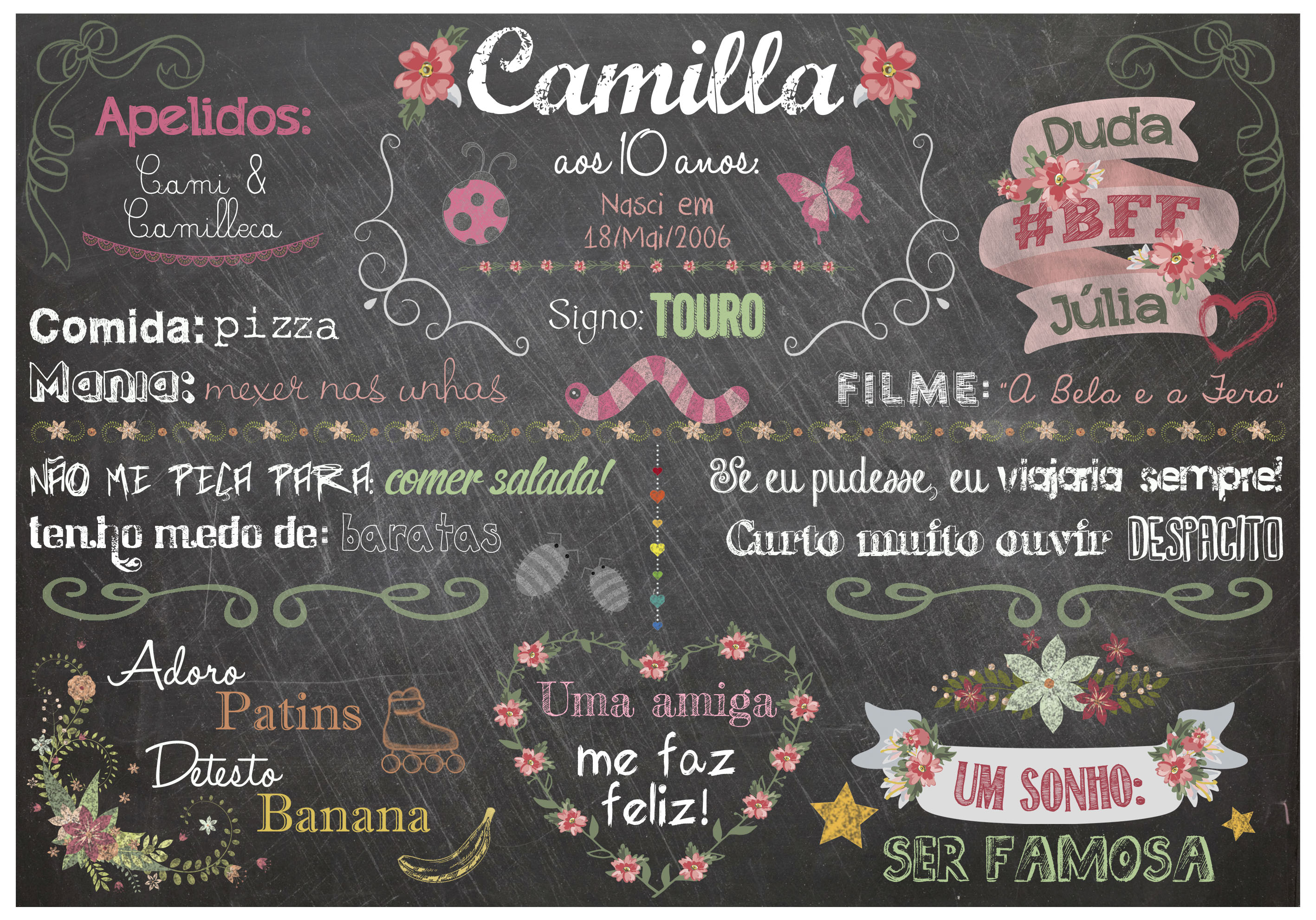 PRArt Chalk Camilla 11a