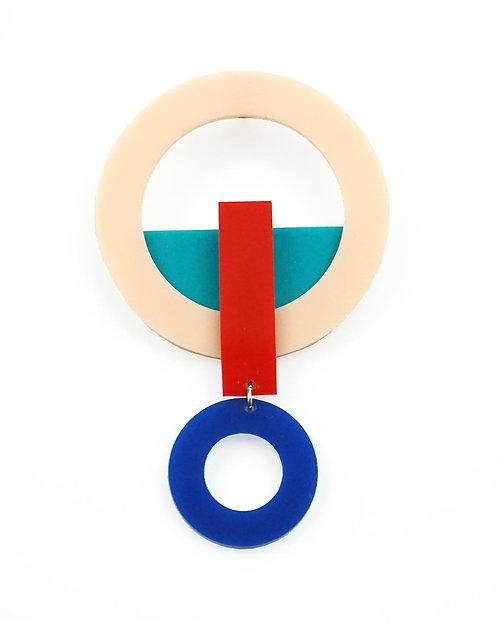 Ducir Light Blue Single Earring