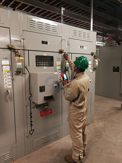 Ultrasonic Testing on Switchgear