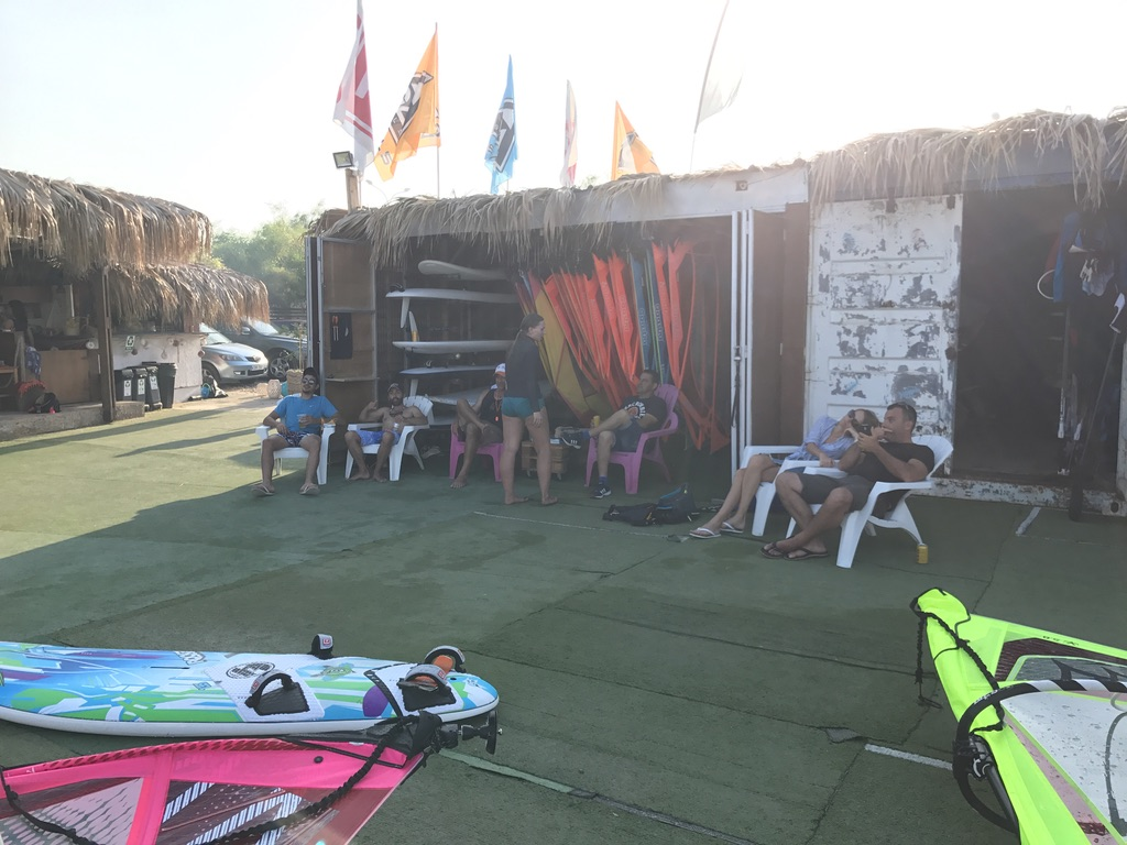 Our windsurf station