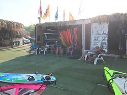 Our windsurf station