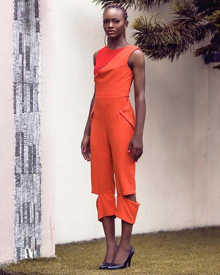 THE YEDDA CUT-OUT JUMPSUIT