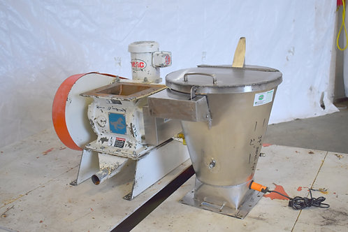 "Mac 8 "" inlet rotating valve feeder"