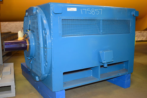 Reconditioned 600 HP GE electric motor, 2300 volt, 1800 RPM, frame 8288S
