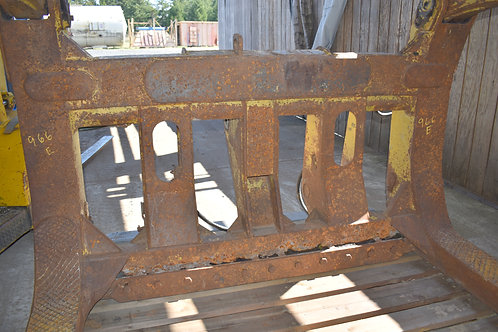 Caterpillar 966 D, E, F, wheel loader log fork,
