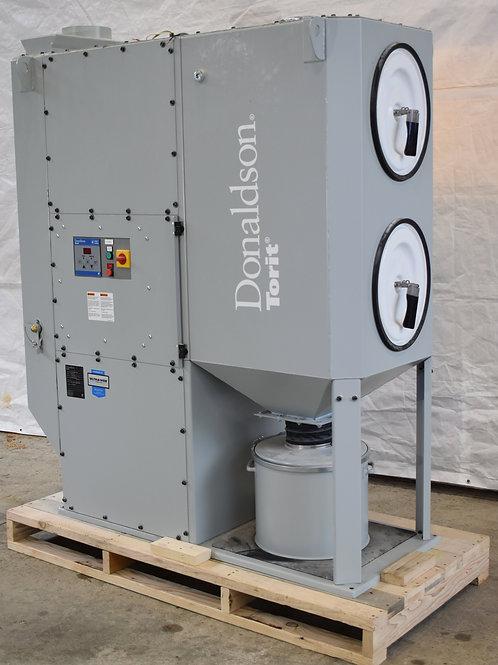 Donaldson Torit Oval DFO 2-2 cartridge dust collector, 1,600 cfm