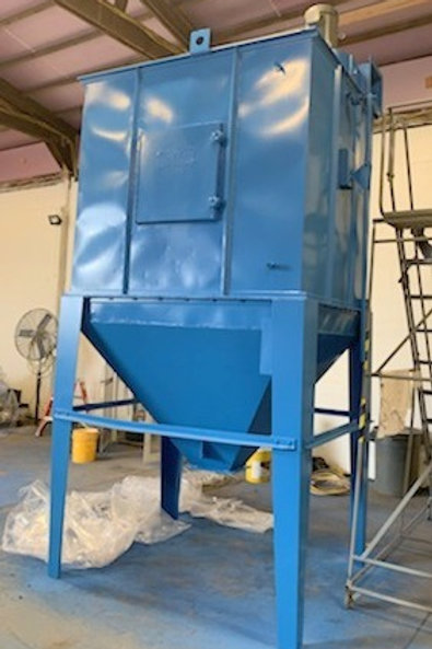 Murphy Rodgers 3900 cfm, 15hp dust collector