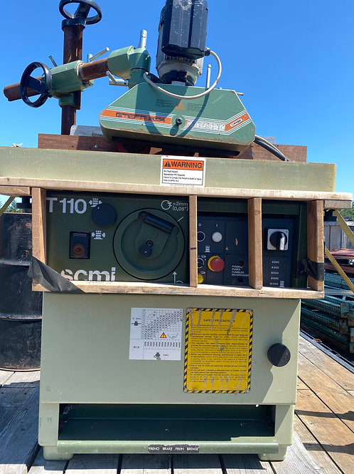 SCMI T110A shaper with Steff power in-feed
