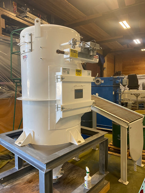 Camcorp pulse jet dust collector bin vent