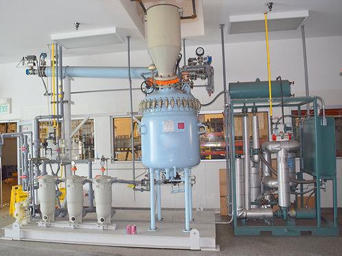 Pfaudler 100 gallon reactor system,