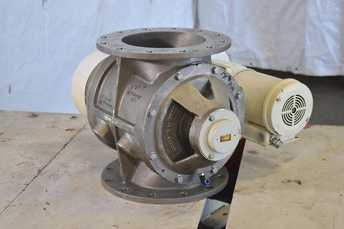 """10"""" stainless steel rotating valve feeder"""