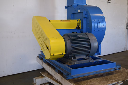Superior Systems 75HP paddle wheel fan, material handling fan