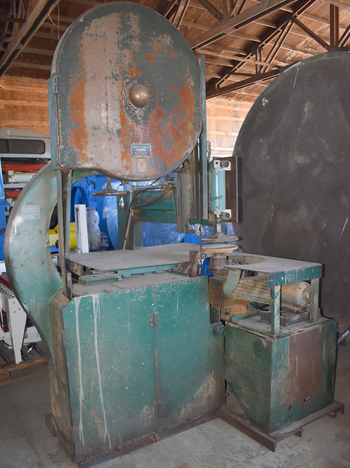 Oliver bandsaw circle cutting machine