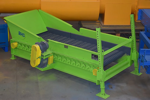 BHS Bulk Handling Systems debris roll screen, scalping and rotating screener