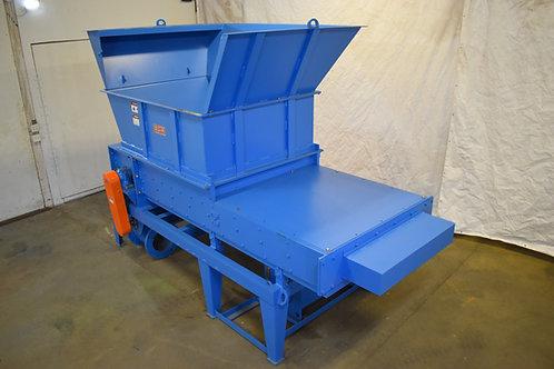 est Salem Machinery 1662 HT horizontal high torque hog shredder with pusher ram,