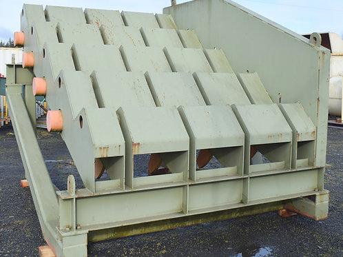 SOLD Unused Linden 4 step log ladder step feeder