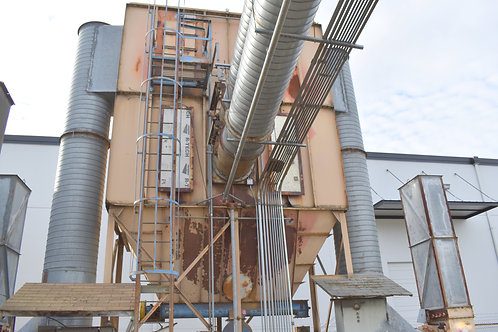 Donaldson Day 256- HRW- 8, pulse jet baghouse dust collector, 2,547 filter area