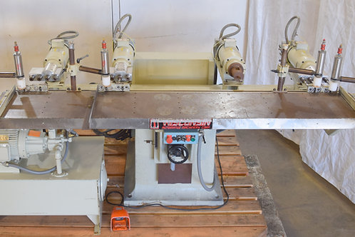 Wisconsin B20-M multiple spindle horizontal drilling machine