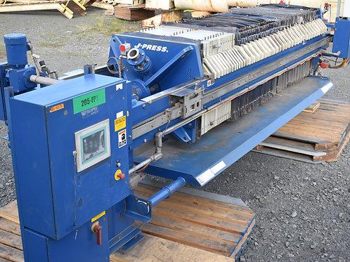 Siemens J-press filter press, US Filter JWI press, J-press sidebar plate & frame