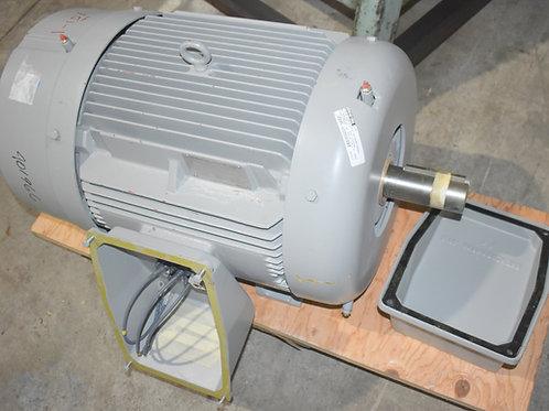 un-used Siemens 30HP, 885rpm, 364T frame,460 volt electric motor