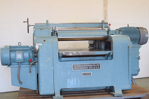 """WHITNEY S-970 planer top & bottom 36"""" helical heads"""