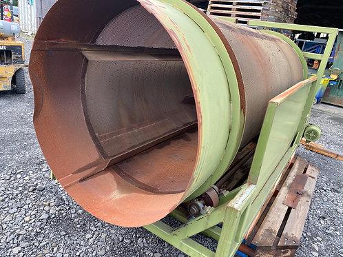 "Verville rotary trommel  screen, 4 ½ ft  rotating drum screen, 54"" trommel drum"