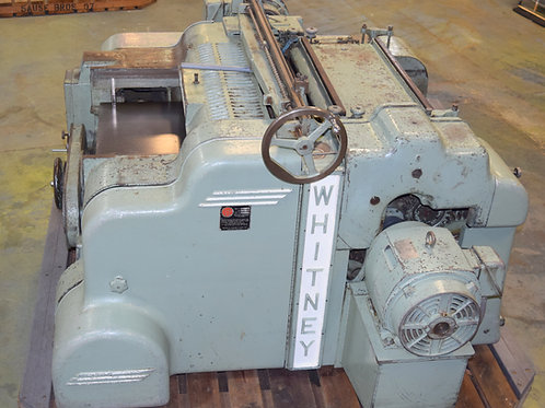 Whitney S970 Top and Bottom Planer with Twin Helical Heads